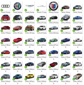 车辆品牌系列图片示例