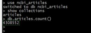 NCBI PMC论文数据统计